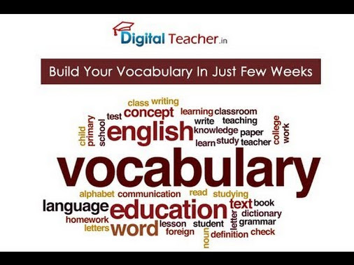 To improve English spoken skills with the help of English vocabulary