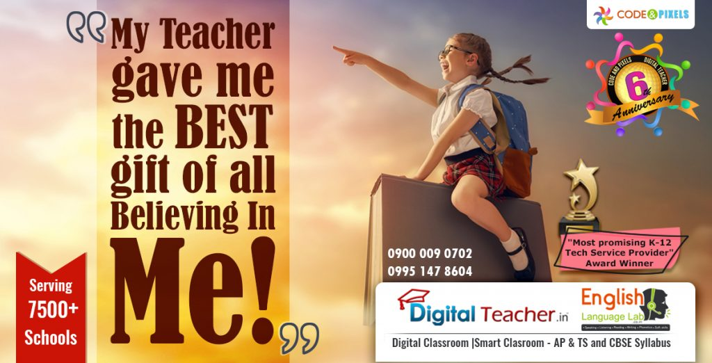 Believe in yourself - Digital teacher, K12