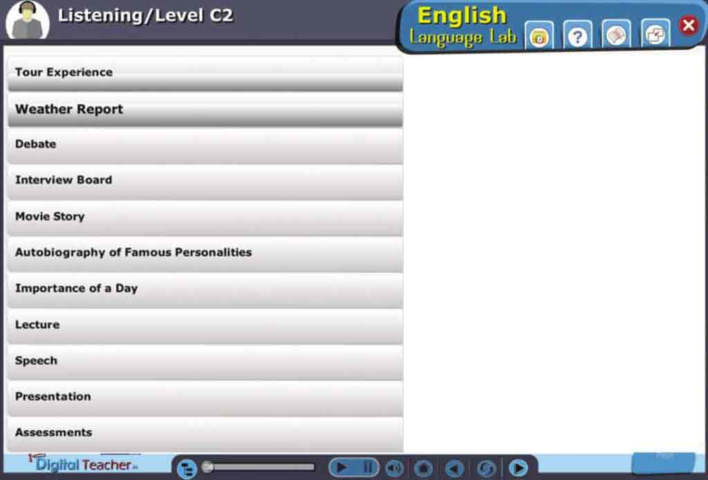 English Listening Skills Software- English Language Lab
