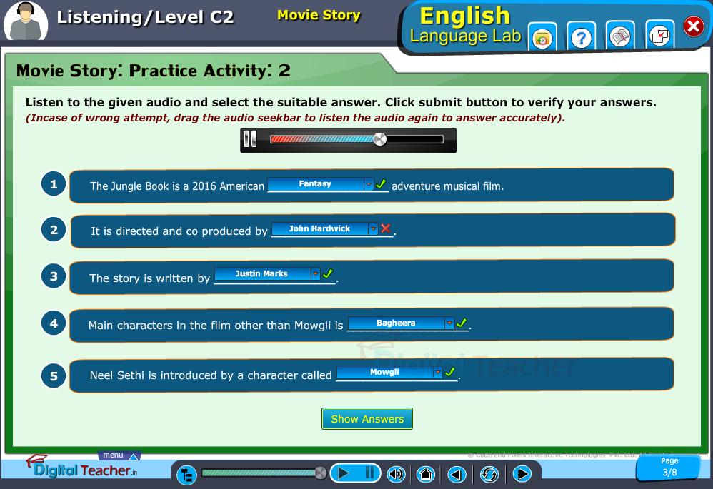 Listening Infographics - English Language Lab
