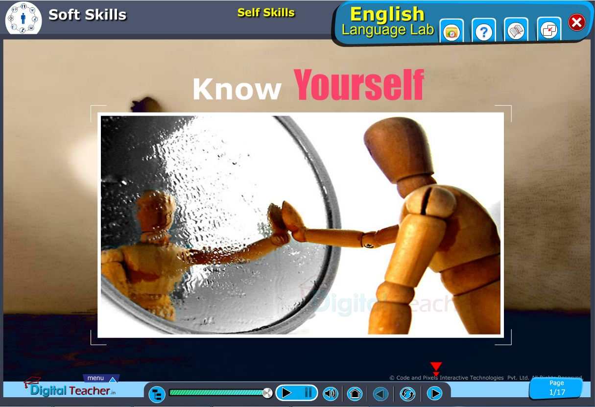 English language lab softskills infographic defined self skills on know yourself